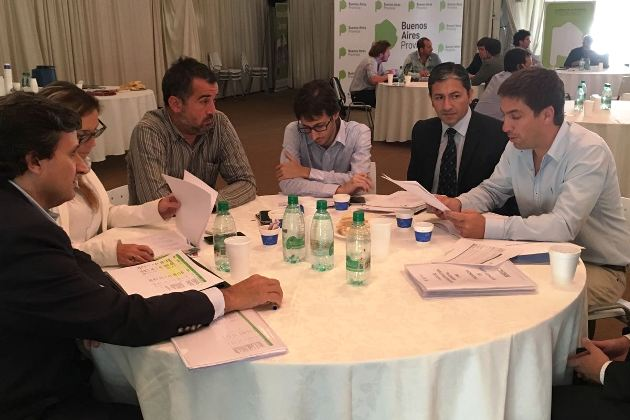 Fondo de Infraestructura Municipal: Reunión en La Plata