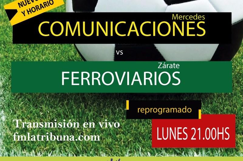 Comunicaciones jugará este lunes a las 21