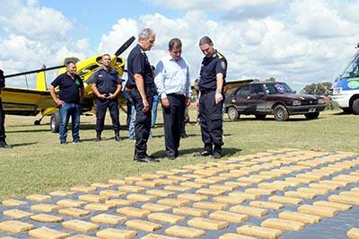 Diez detenidos en Navarro por el operativo «El Señor de los Cielos»