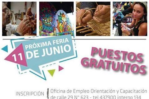 Convocan a emprendedores y artesanos para Feria en La Trocha