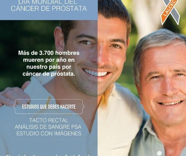 LALCEC lanzó campaña prevención de cáncer de próstata