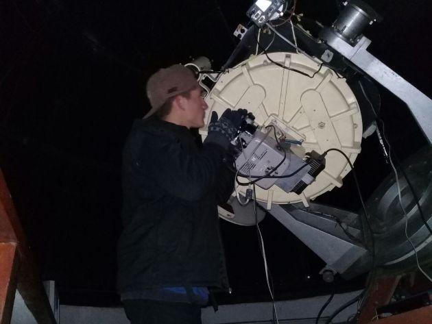 Jóvenes del Envión en el Observatorio Municipal
