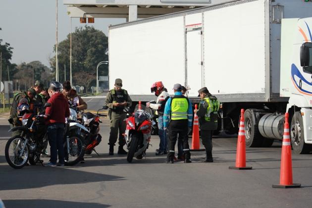 Fuerte operativo multi agencia de seguridad vial en nuestra ciudad