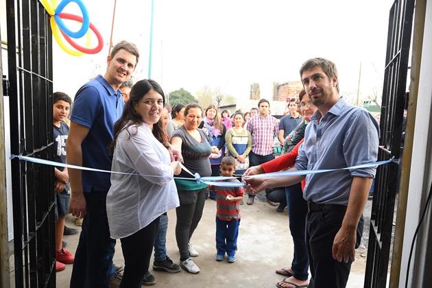 Inauguran nuevo «Espacio de Primera Infancia» y «CAPs» en Barrio Marchetti
