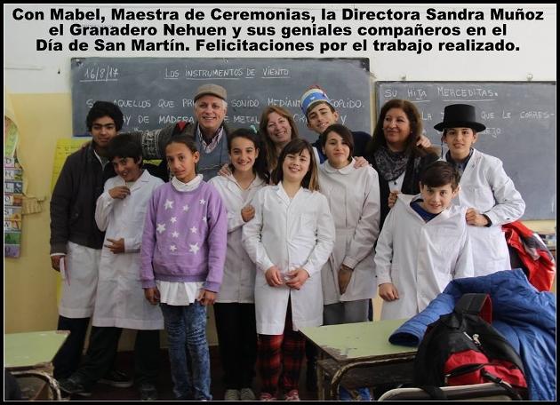 San Martín vive en las escuelas