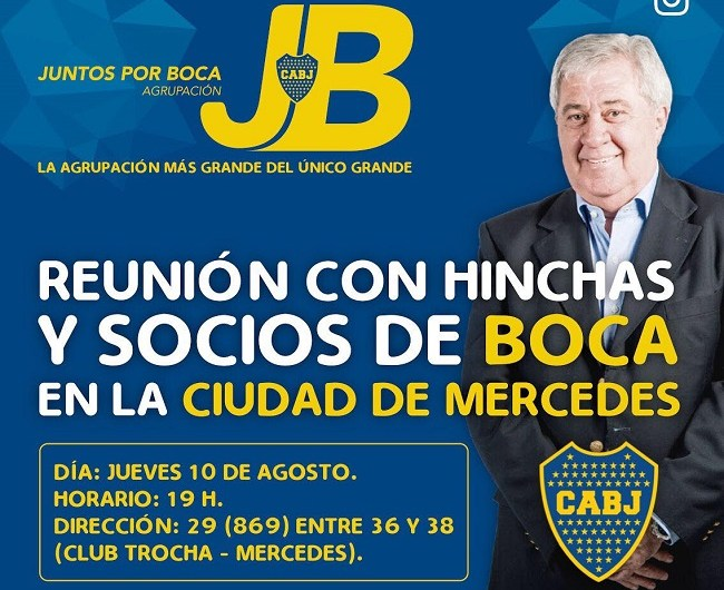 Jorge Amor Ameal disertará en Mercedes