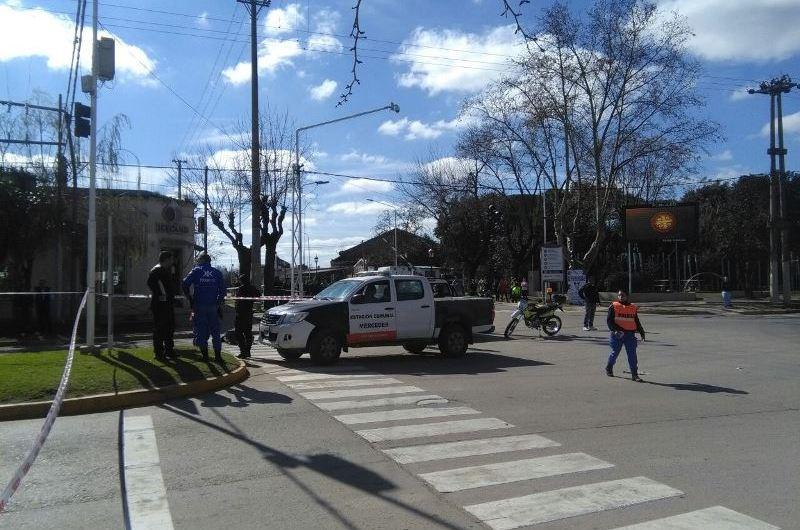 Fatal accidente en avenidas 29 y 40