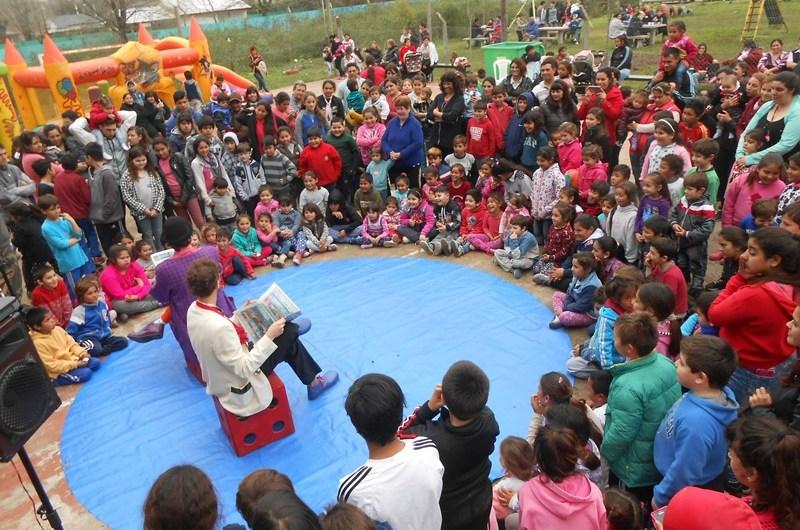 En Gowland se celebró el Día del niño