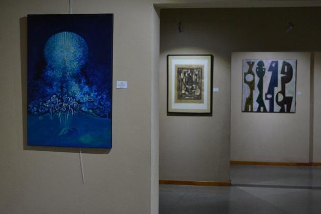 Muestra de Pinturas: Extra Vagando por las salas del MAMM