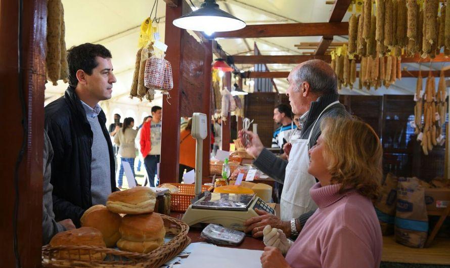 'Wado' de Pedro avanzó en un anhelado deseo bien mercedino: declararnos Capital Nacional del Salame Quintero