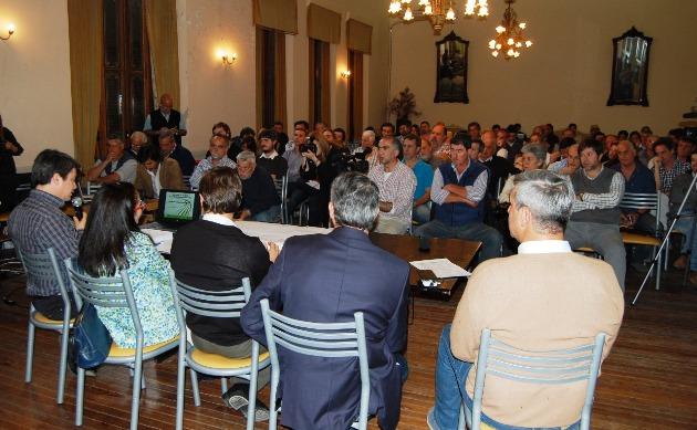 Mercedinos participaron de audiencia pública por la ruta 41