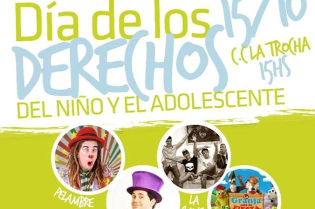 Fiesta para los niños este domingo 15 de octubre
