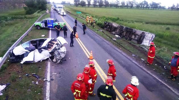 En siniestro fatal en la Ruta 5 km 113,9 muere dirigente sindical