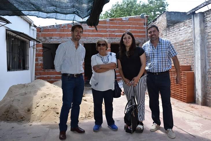 """Avanza la obra de ampliación de """"El Honguito"""" que realiza la Municipalidad"""