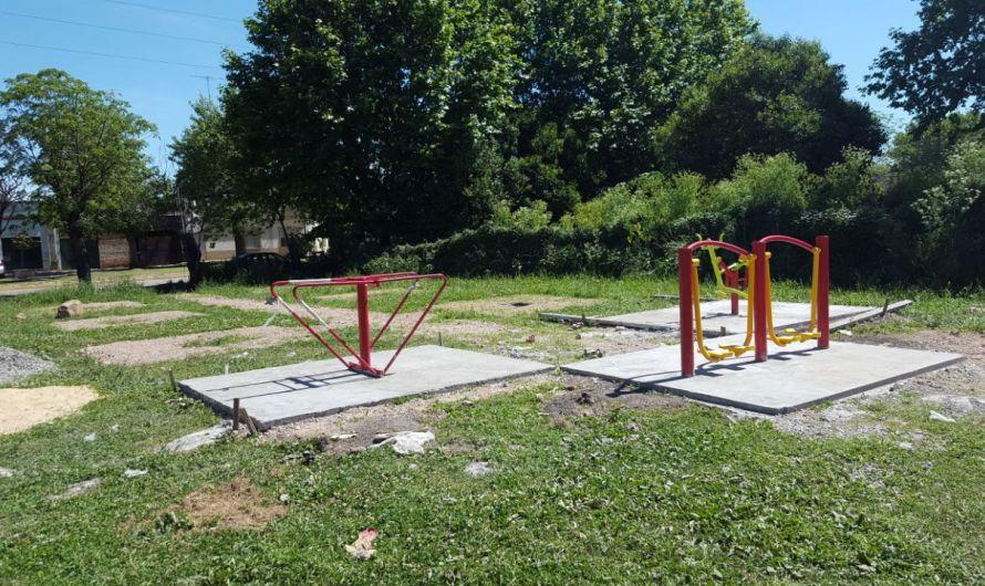 Municipio construye plaza de la salud para el cuidado y bienestar de los vecinos