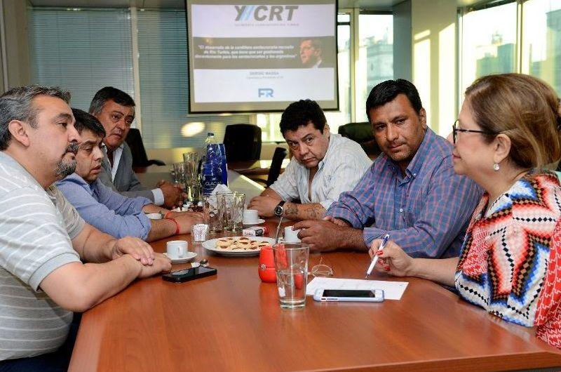 El Diputado Selva se reunió con representantes de Río Turbio