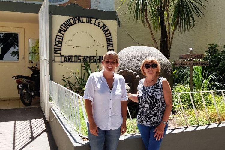 Concejales de Cambiemos visitaron el Museo Ameghino