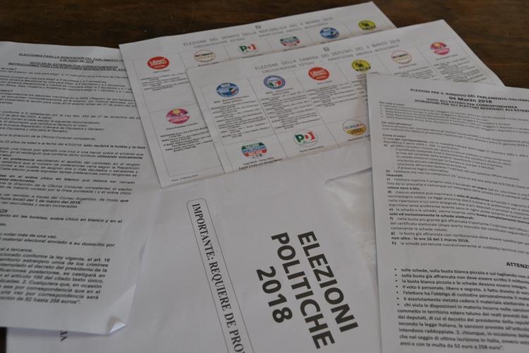Elecciones italianas: últimos días para votar en el extranjero