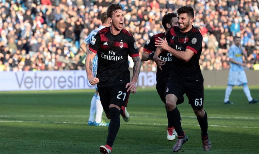 Primer gol de Lucas Biglia en la goleada de Milan ante SPAL (video)