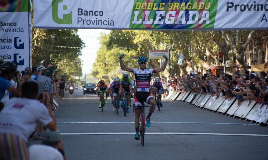 Sebastián Trillini se quedó con la etapa Caseros – Mercedes de la Doble Bragado