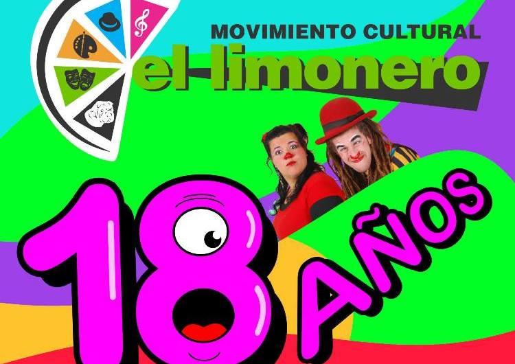 El Limonero festeja sus 18 años con un evento multidisciplinario