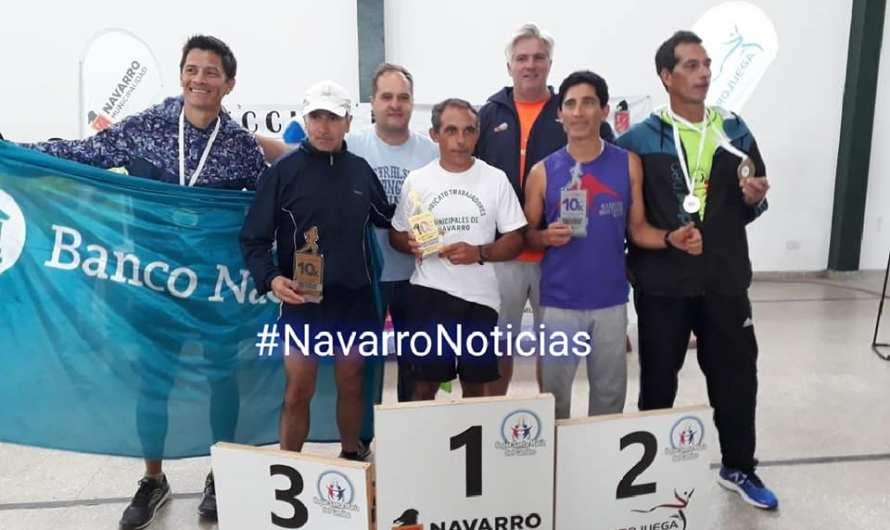 Roberto Potes fue segundo en su categoría en los 10k de Navarro