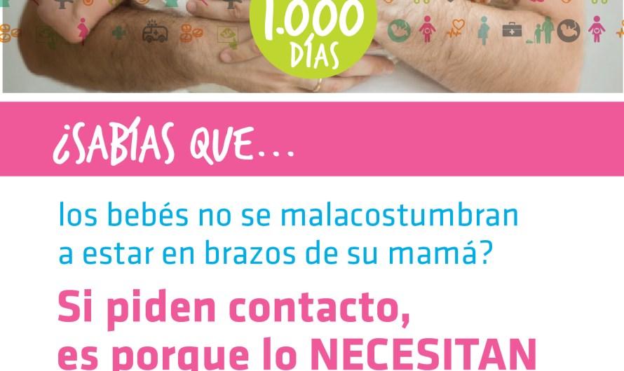 """Junto a las mamás otra semana de alegría para el """"Programa Primeros Mil Días"""""""
