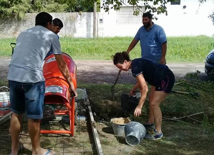 En barrio San José empezó programa de limpieza urbana, concientización y cuidado del medio ambiente