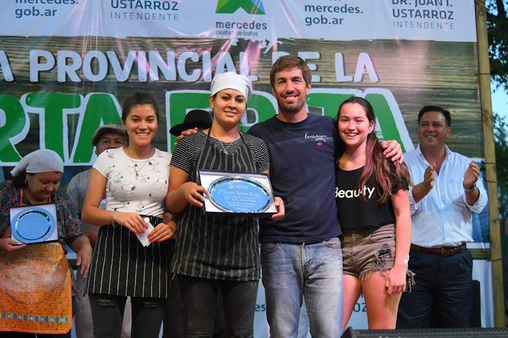 Micaela Lucero fue la tortera del año en al 19° Fiesta de la Torta Frita