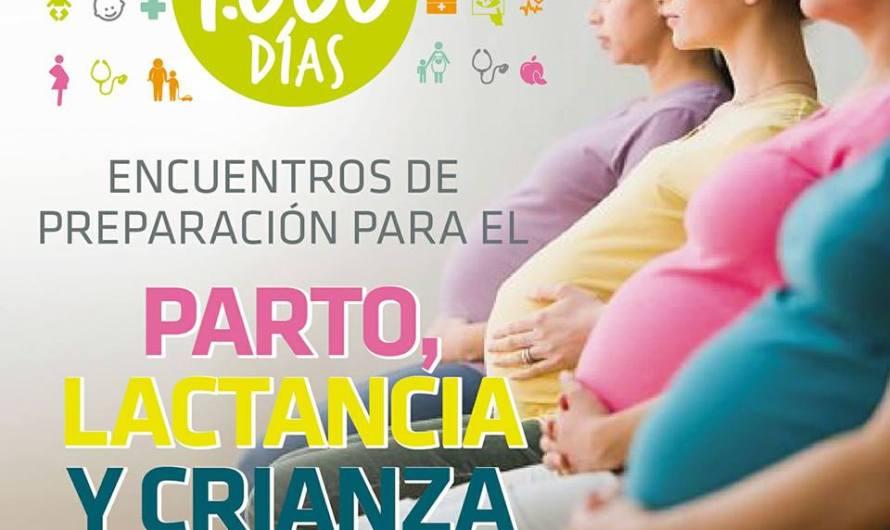 """Nuevo curso pre parto desde """"Programa Mil Días"""" en barrio Trocha"""