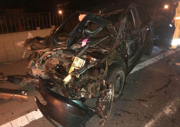 Dos mercedinos pierden la vida en siniestro vial en la noche del sábado