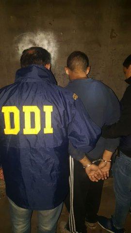 DDI Mercedes detiene en Merlo a acusado de homicidio