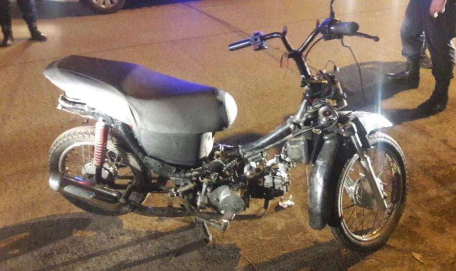 Policía Comunal recupera moto robada y efectúa detención por robo agravado
