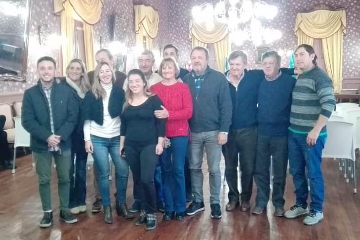 El Senador Provincial Roberto Costa visitó la ciudad