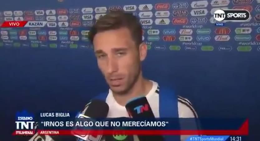 Lucas Biglia anunició no seguirá en la Selección Nacional (video)