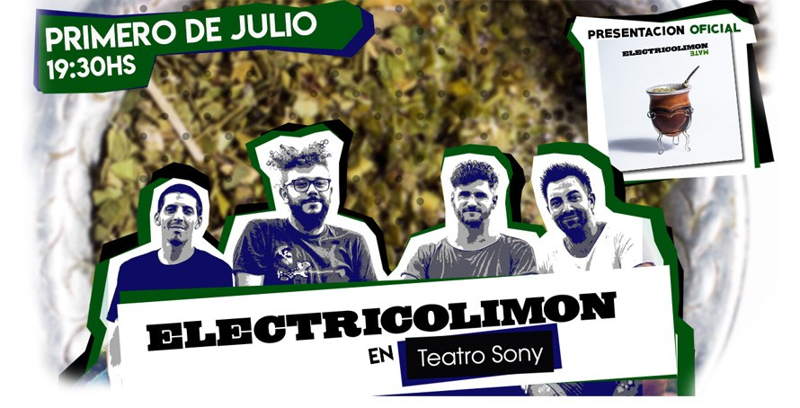 Eléctrico Limón presenta su nuevo disco en el «Teatro Sony»