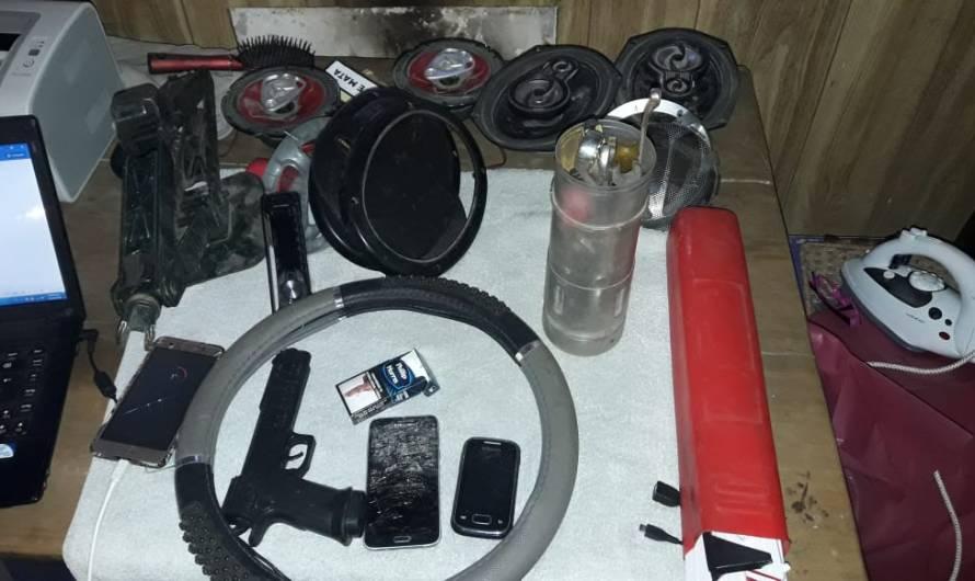 Policías de Mercedes y Moreno esclarecen robo, recuperan bienes y culpables tras las rejas