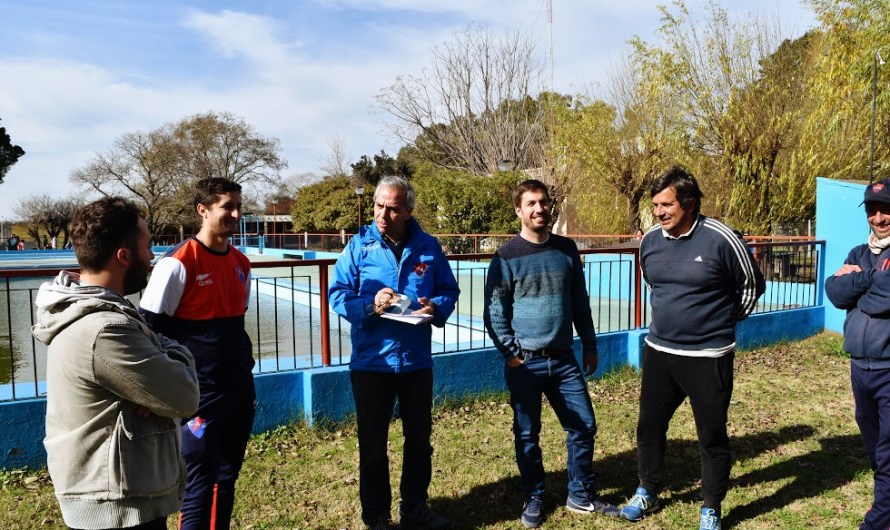 Recorrida e importante apoyo al Club Estudiantes llevó a cabo Ustarroz