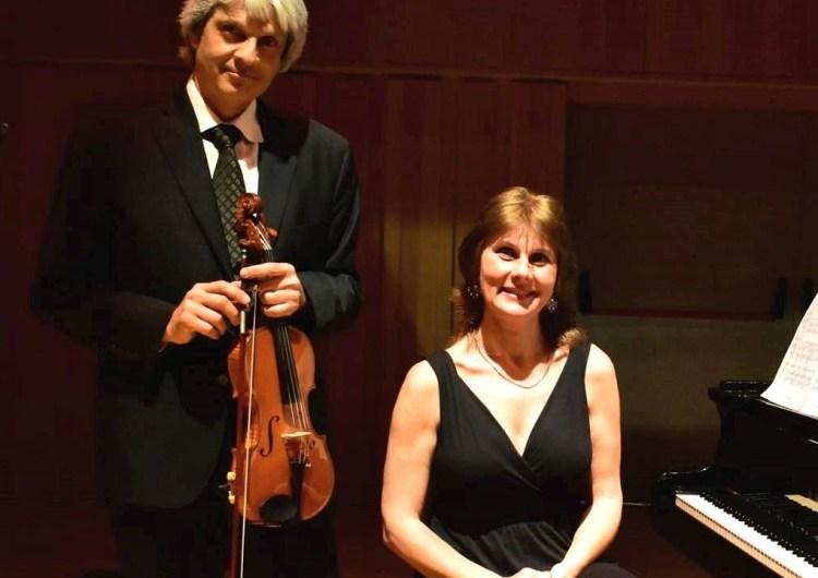 Concierto en el Centro de Egresados con sonatas para violín y piano
