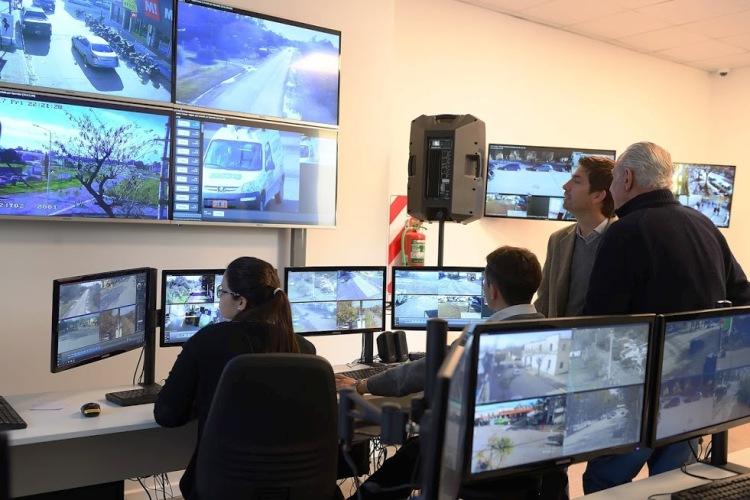 Hubo capacitación y actualización de sistema en el Centro de Monitoreo