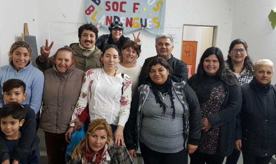 Roxana Fernández ganó las elecciones de Sociedad de Fomento del Blandengues