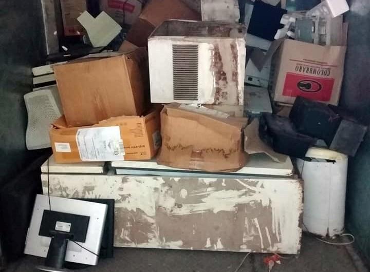 Municipio recicla otros 1500kg de productos tecnológicos en desuso