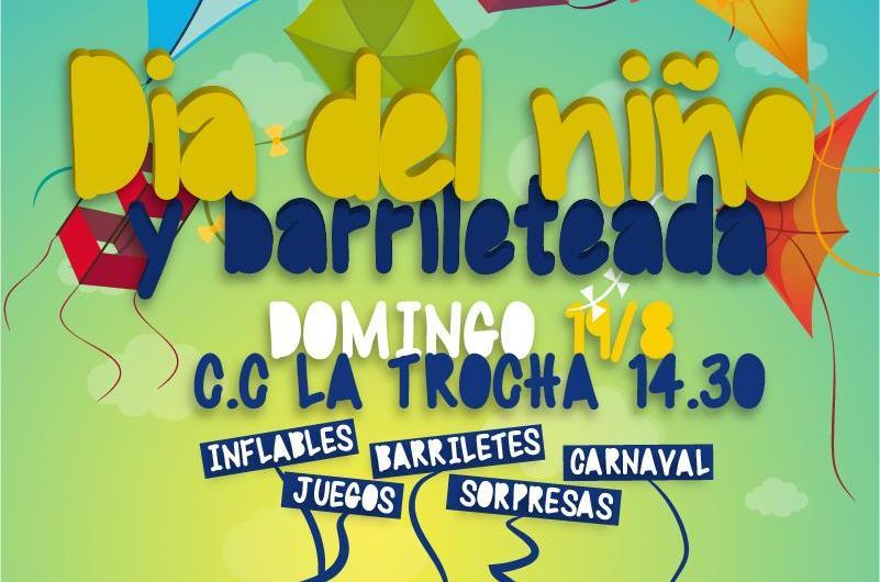 La Ribera organiza su tradicional Barrileteada del Dia del Niño