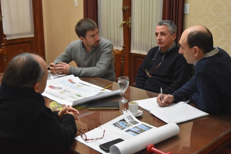 Municipio comenzó proyecto de paisajismo urbano con Carlos Thays