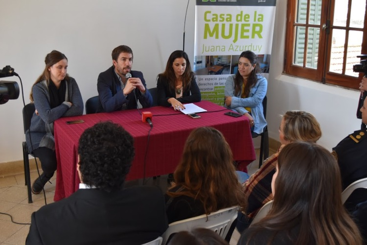El Municipio presentó la nueva «Coordinación de Género»