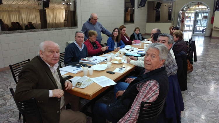 Sociedad Italiana de Mercedes participó de reunión de la FAIA