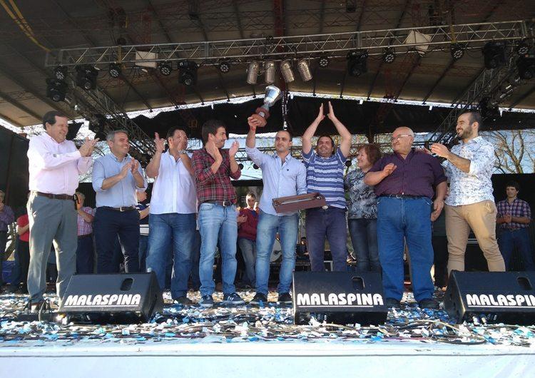 La Familia Dipieri se quedó con el primer premio a la producción de Salame Quintero