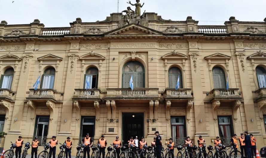 Municipio compró bicicletas para la Policía Comunal y su trabajo preventivo