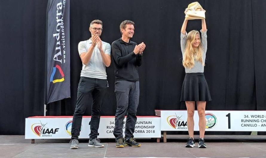 Chiara Mainetti, la mejor argentina en el Campeonato Mundial de Montaña