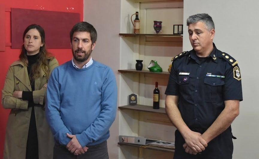Se inauguró la Delegación de Investigaciones del Tráfico de Drogas Ilícitas y Crimen Organizado